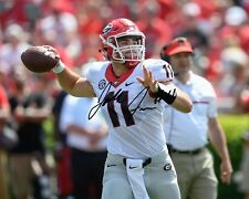 Jake Fromm Georgia Bulldogs Football Signed 8X10 Photo Rp QB Touchdown Throw