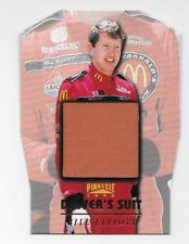 Bill Elliot Nascar 1996 Pinnacle Drivers Suit Die-cut /1 red firesuit