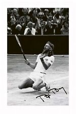 BJORN BORG AUTOGRAPHED SIGNED A4 PP POSTER PHOTO