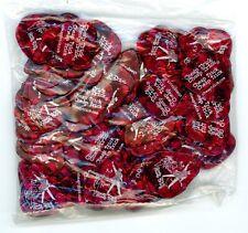 Cheap Trick Rick Nielsen SEALED 100 Count FULL Bag RED Pearl Guitar Pick Picks