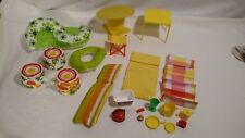 Vintage Barbie Blow Up Furniture, Outdoor Lounge Pieces, Tables, Seat, Extras