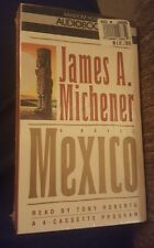 Mexico by James A. Michener Audiobook New Sealed Random House Drama