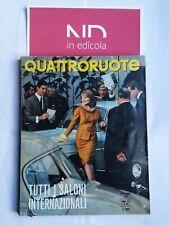 QUATTRORUOTE 95 NOVEMBRE 1963 - ALFA ROMEO GIULIA SPRINT GT FIAT 1100 D FIAT 1.5