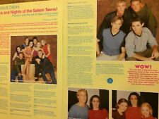 Days of Our Lives, Two Page Clipping, Kyle Lowder, Farrah Fath, Jason Cook