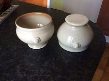 2 bols soupe tête de lion Emile Henry 6600 Headed Soup Bowls