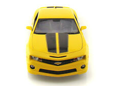 Maisto 1/18 Scale 2010 Chevy Camaro SS RS Yellow Diecast Car Model 31173