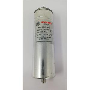 DUCATI ENERGIA CONDENSATORE RIFASAM.MONOFASE 52,3 UF 3,33KVAR 450VAC 50 HZ M12 D