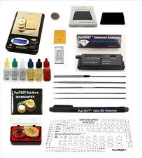 Gold Acid Testing Kit + Digital Diamond Tester + Digital Test Scale +Loop+Extras