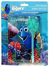 Disney Finding Dory Nemo Diary With Lock Keys and Pen Set