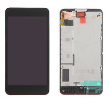 For Nokia Lumia 635 630 Black LCD display+touch Digitizer screen Assembly+Frame