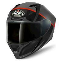 Airoh Valor Eclipse Full Face Motorcycle Motorbike Crash Helmet ACU Black Medium