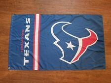 Houston Texas Blue Flag Banner 3X5Ft Garage Mancave Super Bowl Football Nfl