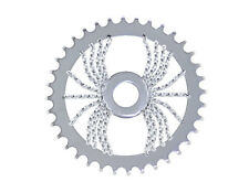 BICYCLE LOWRIDER CHAINRING TWISTED SPIDER 36T X 1/2 X 1/8 CHROME BIKES NEW!