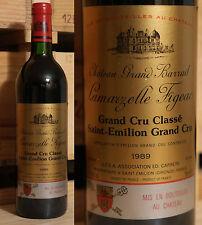 1989er Chateau Grand barrail lamarzelle Figeac-Saint Emilion Grand Cru Classe