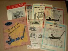 Catalogue Outil  FOG 1932  outillage garage auto à Levallois Perret brochure