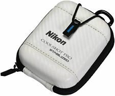 Nikon Golf Hard Case for COOLSHOT PRO STABILIZED Laser CS-CSPRO1 White NEW