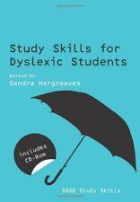 Study Skills for Dyslexic Students (SAGE Study Skills Series),Sandra Hargreaves
