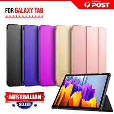 For Samsung Galaxy Tab S7 S7+ Plus Folio Smart Leather Flip Case Magnetic Cover