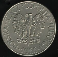 More details for 1966 poland 10 zlotych coin | european coins | pennies2pounds