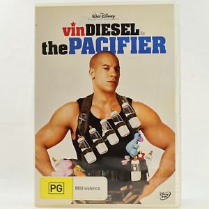 The Pacifier Vin Diesel Comedy Family Kids Walt Disney DVD R4 Good Condition