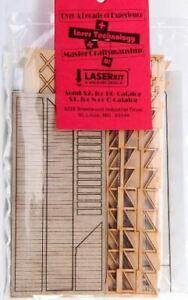 AMERICAN MODEL BUILDERS HO FREIGHT DOCK W/STAIRS (2) | 327
