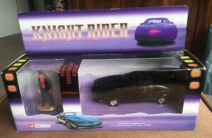 Corgi Knight Rider K.I.T.T. Pontiac Car CC05601 with Michael Knight Figure 1:36