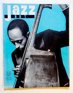 JAZZ  HOT n° 128 JAN; 1958 Percy Heath Roger Guérin Memphis Slim Boris Vian