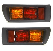 Toyota Land Cruiser 90/95 1996-2002 Tail Rear Bumper Fog Lights Lamps Left+Right