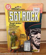 1981 Remco Sgt Rock Tough Action Soldier DC Comics Rare DOGTAG Version!