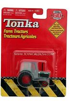 2007 Tonka 60th Anniversary Farm Tractors Green with Red Wheels Canopy