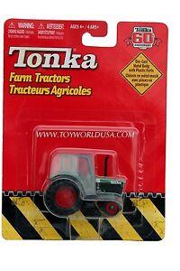 2007 Tonka 60th Anniversary Farm Tractors Green with Red Wheels Canopy