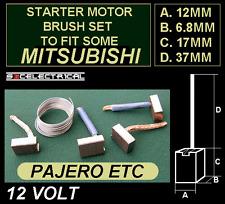 Motor De Arranque Nuevo Conjunto de pinceles cepillo se ajusta Mitsubishi L200 Pajero y más 140347