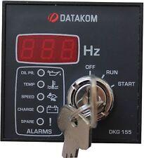 DATAKOM DKG-155 Painel de controle do início manual do gerador / unidade / contr