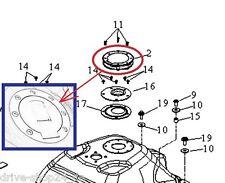 Y] Tankdeckel für TRITON Quad ATV SuperMoto 400 EFI LOF / REACTOR 450 Crosser SM