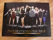 SNSD GIRLS' GENERATION - 2011 TOUR DVD [ORIGINAL POSTER] K-POP *NEW*