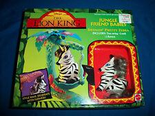 SWINGIN' PRETTY ZEBRA Jungle Friends Babies LION KING Sealed MIB Disney MATTEL