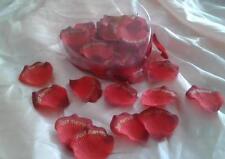 Rosenblütenblätter JUST MARRIED Hochzeit  rot gold  Blumenmädchen  60 Stk. Neu!