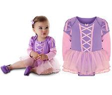 NEW Disney Store Tangled Princess RAPUNZEL Costume Dress Bodysuit Baby 24 M