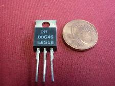 TRANSISTOR BD646 PNP DARL+Di NF-L 60V 8A 62,5W >10Mhz ß>750      2x     22499-43