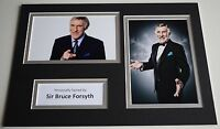 Sir Bruce Forsyth Signed Autograph A4 photo display Strictly Dancing AFTAL & COA