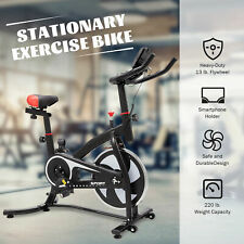 Exercise Bike Strength Training Equipment w Adjustable Seat Cushion for Home /