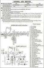 Aérographe pièces hs-80 complet o ring kit ref (HS 80 Kit