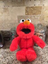 "Sesame Street Elmo 17"" (1995) Singing ABC Song plush toddler toy TYCO"