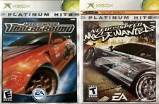 Video Game Need for Speed Underground and Most Wanted XBox 2 Games Platinum Hits