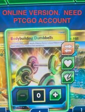 DIGITAL SR Pokemon Card. Need PTCGO account. Bodybuilding Dumbbells BS 161/147