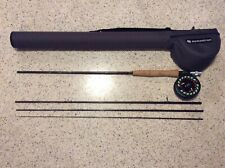 Orvis Encounter 9' 5 Weight 4 Piece Combo With Redington Case Rod Reel Line