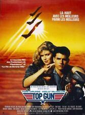 TOP GUN Affiche Cinéma Pliée 53x40 Movie Poster TOM CRUISE VAL KILMER TONY SCOTT