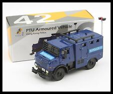 TINY HONG KONG CITY 42 PTU Armoured Vehicle POLICE CAR NEW DIECAST CAR