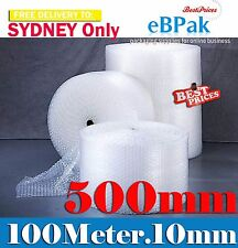 Polycell 500mm X 100m 10mm Bubble Wrap Roll - Clear