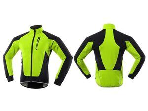 Cycling Jacket Windproof Waterproof Soft shell Coat Fleece Warm Bicycle Clothing